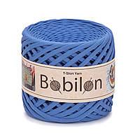 Пряжа трикотажна Bobilon (5-7 мм), колір Волошка