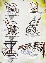 Боковины для козырька 1.50м (кованые), фото 3