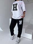 Стильний костюм жіночий спортивний з футболкою, фото 2