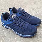 Кроссовки Bonote р.44 текстиль тёмно-синие, фото 3