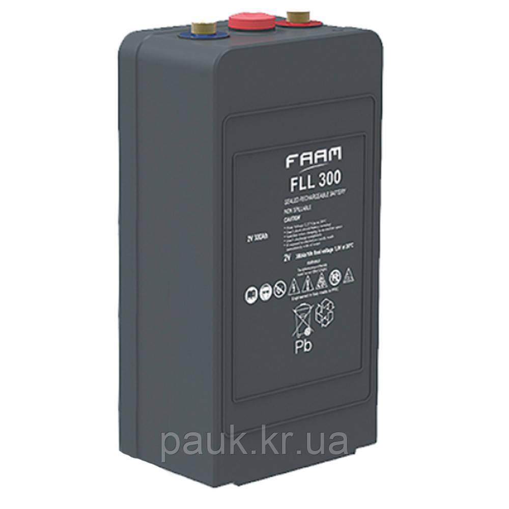 Акумулятор FAAM FLL 2-400, герметична батарея AGM, свинцево-кислотні АКБ