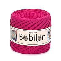 Пряжа трикотажна Bobilon (7-9 мм), колір Малиновий