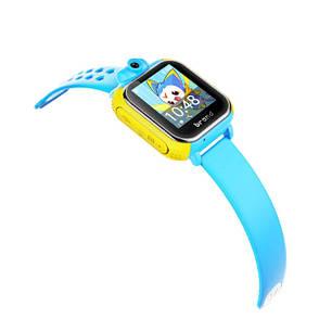 Детские часы с GPS SMART BABY WATCH Q200 Голубые, фото 2