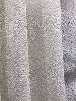 Тюль кремовый из фатина с вышивкой на метраж , висота 3 м, фото 5