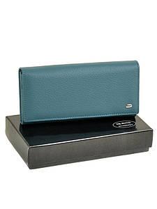 Кошелек Classic кожа DR. BOND W501-2 light-blue