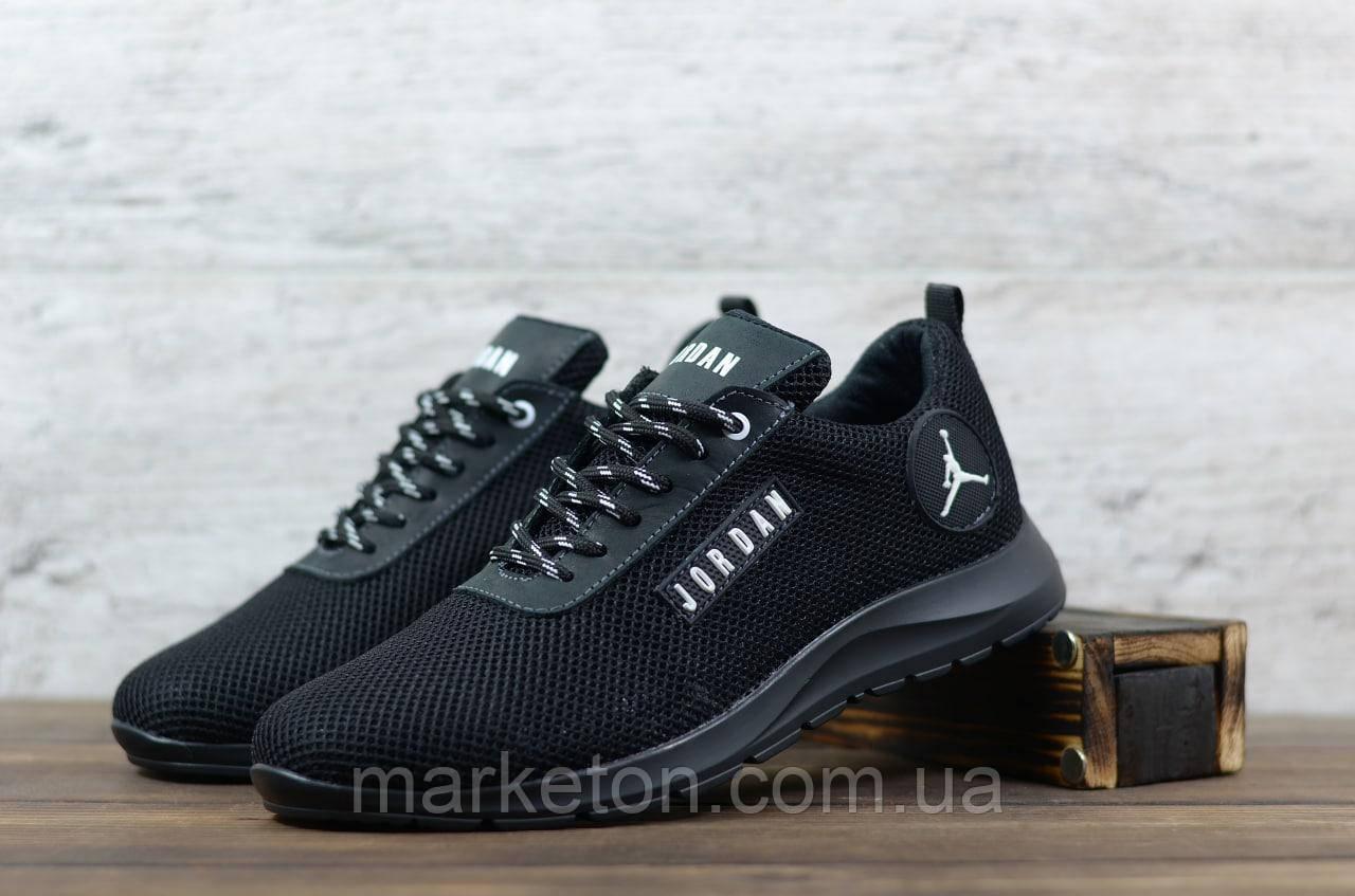 Чоловічі текстильні Чорні кросівки Jordan
