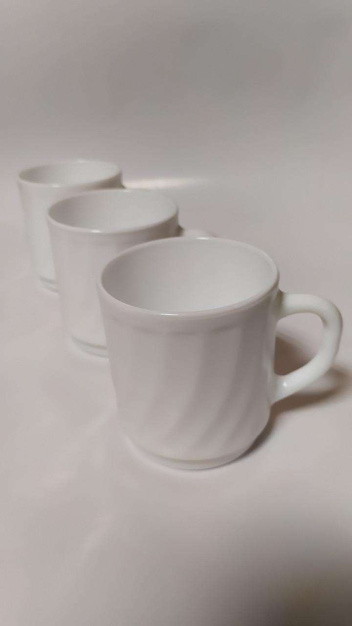 Чашка Luminark Trianon біла 300мл. P9508