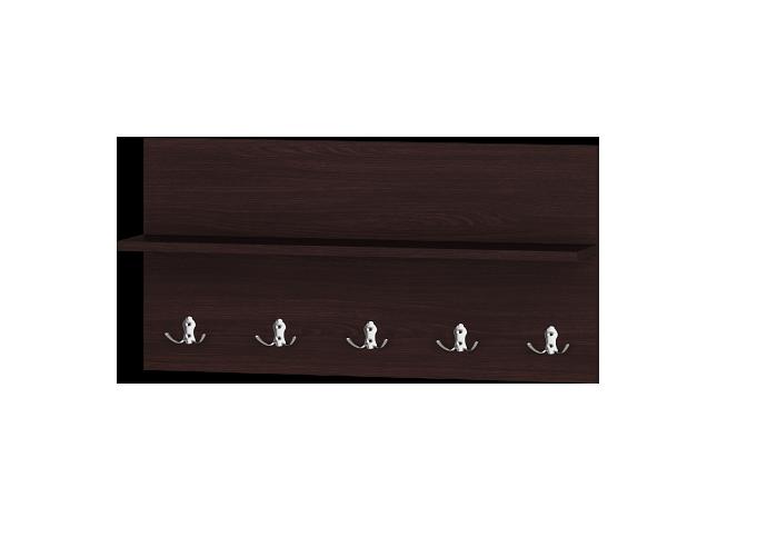 Вішалка Соната 800 венге темний (800х166х400)