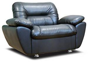Кресло Визит с подлокотниками Экокожа 100%PU