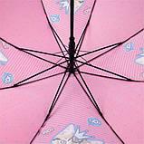Зонт-трость Kite Kids Rachael Hale полуавтомат Розовый (R20-2001), фото 6