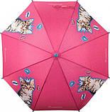 Зонт-трость Kite Kids Rachael Hale полуавтомат Розовый (R20-2001), фото 5