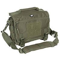 Тактична наплічна сумка MFH 30695B колір олива