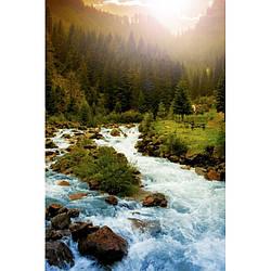 Обігрівач-картина інфрачервоний настінний ТРІО 400W 100 х 57 см, гірська річка