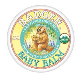 Badger Baby Balm заспокійливий та захисний засіб для дитячої шкіри, ромашка і календула 56 гр