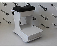 Педикюрная подставка тележка для педикюра пуф-подставка для ног для вытяжки педикюрная тумба с ящиком АріяТ28