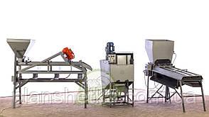 Промислова лінія по переробці волоського горіха
