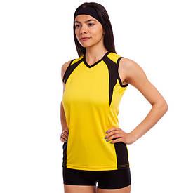 Форма для волейболу жіноча RG-4269, Жовта 42