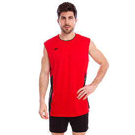 Форма для волейболу чоловіча 6503M, Червона M зріст 155-160, 50-55 кг