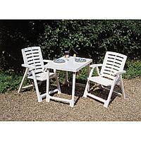 Комплект пластиковой садовой мебели Pik Nik Set Белый Италия