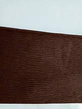 Бумага гофрированная темно-коричневая 55% (50см*200см) 701537тк 1 Вересня