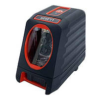 Осепостроитель лазерный, 2 линии, 1H/1V, 2 лазерных модуля (красный луч) PROTESTER LL202R