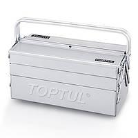 Ящик для инструмента металлический 5 секций 470x220x350 TOPTUL TBAC0501
