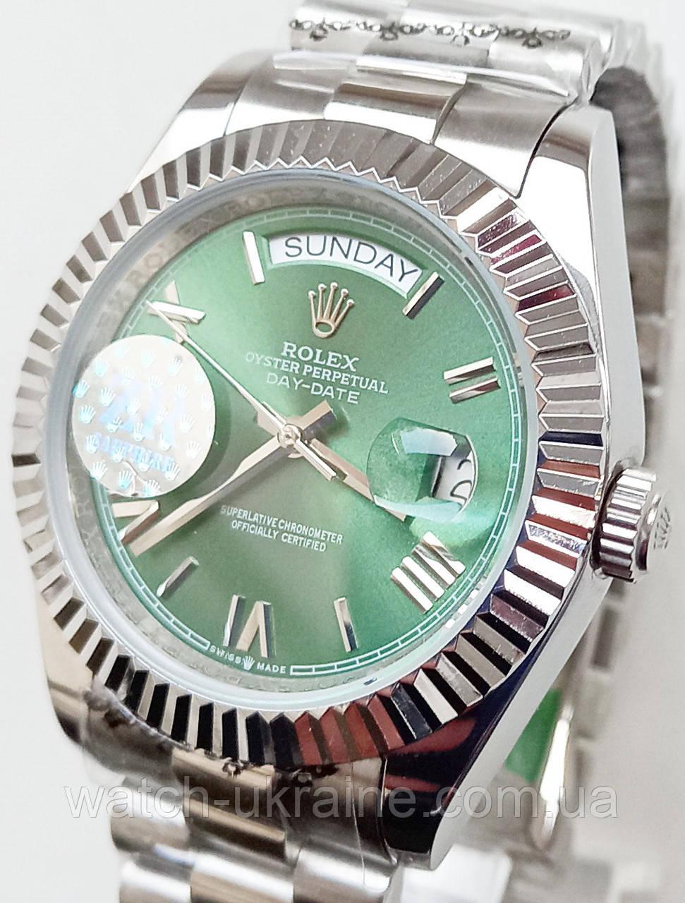 Часы Rolex *day-date*Silver* класс ААА