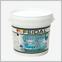 Декоративна фарба Feidal Velvet Dekor матовий перламутровий ,1 л