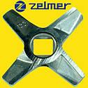 Нож для мясорубки Zelmer NR8 (ОРИГИНАЛ) Двухсторонний (ZMMA128X) 632543, фото 2