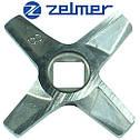 Ніж до м'ясорубки Зелмер NR8 (Оригінал) Двосторонній (ZMMA128X) 632543, фото 4