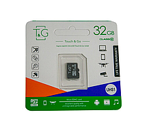 Карти пам'яті microSD Touch&Go 32 Гб без адаптера