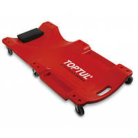 Лежак автослесаря подкатной пластиковый TOPTUL 1020x480x115 мм JCM-0300