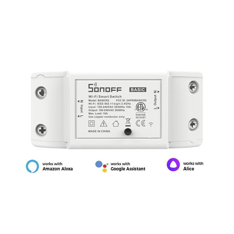 Sonoff Basic R2 WiFi реле для розумного будинку (вимикач, вимикач для розумного будинку, eWeLink)