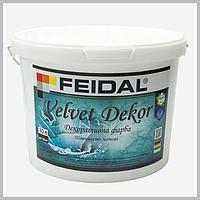 Декоративна фарба Feidal Velvet Dekor матовий перламутровий ,10 л