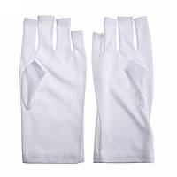Перчатки для защиты рук от УФ-лучей для маникюра