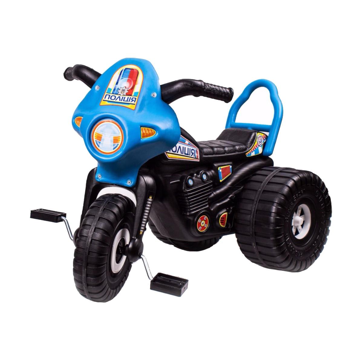 Трицикл ролиция (чорний) (4142)