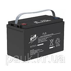 Гелевий акумулятор FAAM FLG12-100 (12 В, 100 Аг), акумуляторна батарея GEL