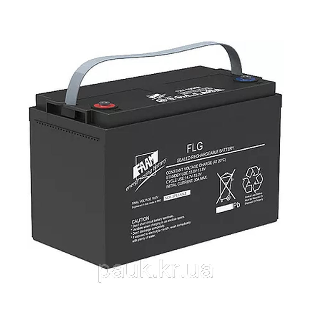 Гелева акумуляторна батарея FAAM FLG12-120 (12 В, 120 Аг), стаціонарний акумулятор GEL