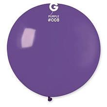 """Латексна кулька пастель фіолетовий 19"""" / 08 / 46см Purple"""