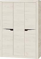 Шафа 1420 Ліберті ЕВЕРЕСТ Дуб крафт білий + Венге 142х50х207. Доставка Новою поштою по всій Україні 650 грн, фото 1