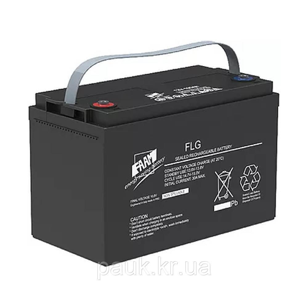 Гелевая аккумуляторная батарея FAAM FLG12-150 (12 В, 150 Ач), стационарный аккумулятор GEL