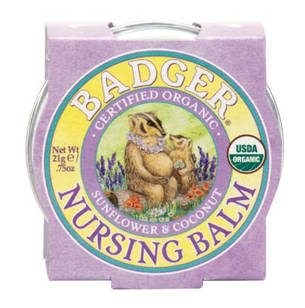 Badger Nursing Balm-бальзам для годуючих мам (захист сосків) 21 гр