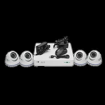 Комплект відеоспостереження GreenVision GV-K-S16/04 1080P