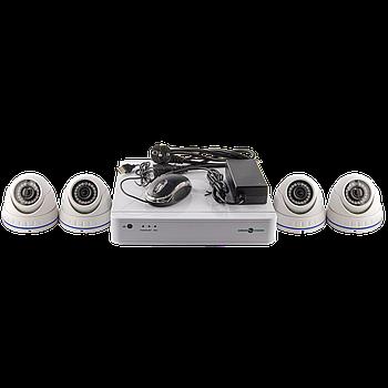 Комплект відеоспостереження GreenVision GV-IP-K-S30/04 1080P