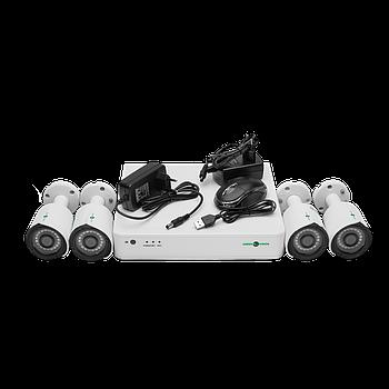 Комплект відеоспостереження GreenVision GV-K-S13/04 1080P