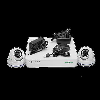 Комплект відеоспостереження GreenVision GV-K-S15/02 1080P
