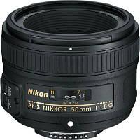 Об'єктив Nikkor AF-S 50mm f/1.8 G Nikon (JAA015DA)