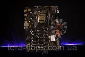 Комплект на 19 видеокарт , Плата B250 Asus Mining Expert + Pentium + DDR4 4GB