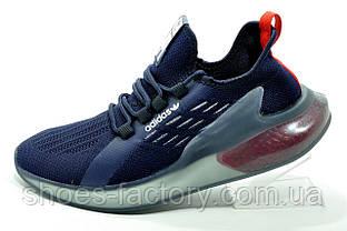 Літні кросівки Adidas 2021 чоловічі сині (Адідас)