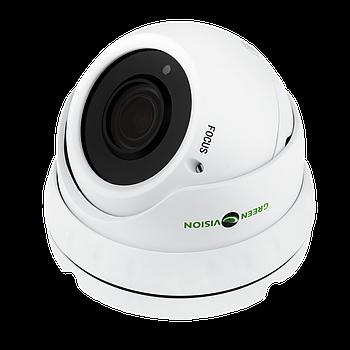 Антивандальна IP камера GreenVision GV-002-IP-E-DOS24V-30 POE